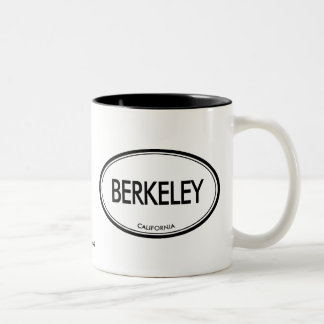 Berkeley, California Two-Tone Coffee Mug