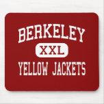 Berkeley - chaquetas amarillas - alto - Berkeley Tapetes De Ratón