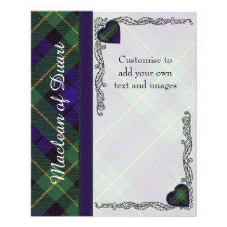 Berkeley clan Plaid Scottish kilt tartan Flyer
