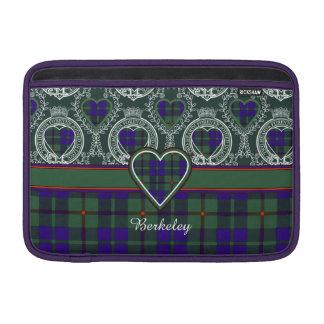 Berkeley clan Plaid Scottish kilt tartan MacBook Air Sleeve