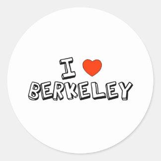 Berkeley Classic Round Sticker
