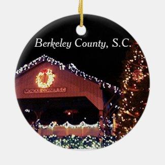 Berkeley County Circle Ornament
