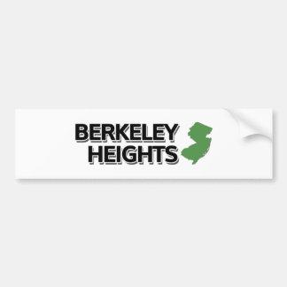 Berkeley Heights, New Jersey Car Bumper Sticker