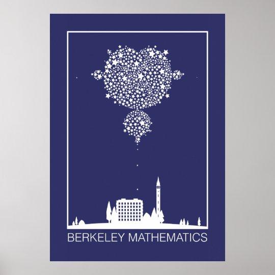Berkeley Mathematics: Stars Poster