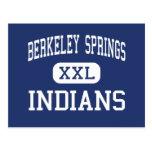 Berkeley Springs - Indians - Berkeley Springs Postcard