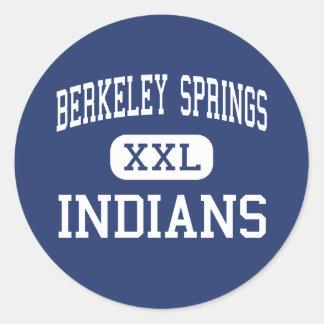 Berkeley Springs - Indians - Berkeley Springs Sticker
