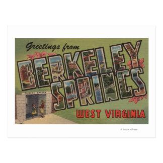 Berkeley Springs, Virginia Occidental Tarjetas Postales