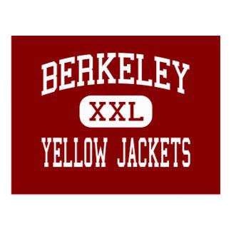 Berkeley - Yellow Jackets - High - Berkeley Postcard