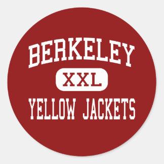 Berkeley - Yellow Jackets - High - Berkeley Classic Round Sticker