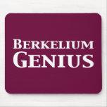 Berkelium Genius Gifts Mouse Mat