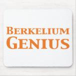 Berkelium Genius Gifts Mouse Pads