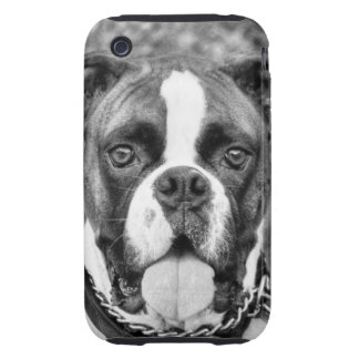 Berkely the Boxer Tough iPhone 3 Cases