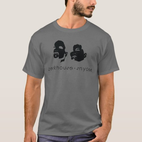 Berkhouse Snyder Heads Up Iconic Design Dark T_Shirt