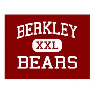Berkley - osos - High School secundaria - Berkley Tarjeta Postal