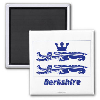 Berkshire Flag with Name Magnet