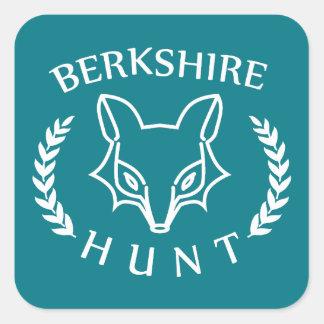 Berkshire Hunt Square Sticker