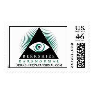 Berkshire Paranormal Group Logo Postage Stamps