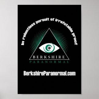 "Berkshire Paranormal Group ""Relentless"" Poster"