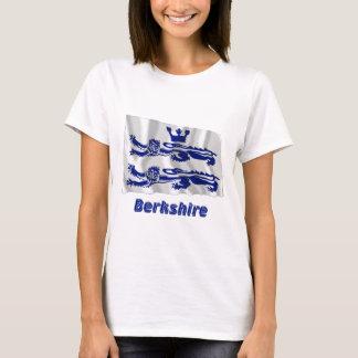 Berkshire Waving Flag with Name T-Shirt