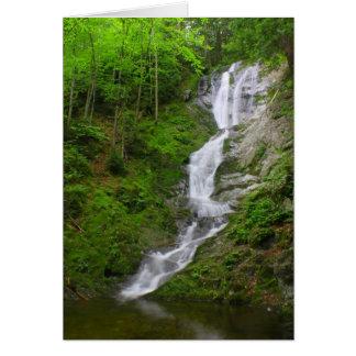 Berkshires Waterfall Ross Brook Falls Card