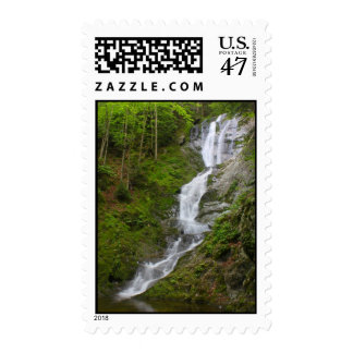 Berkshires Waterfall Ross Brook Falls Savoy MA Stamp