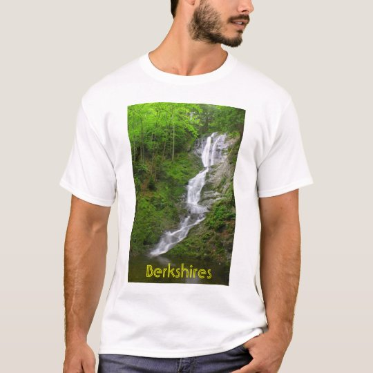 Berkshires Waterfall Ross Brook Falls T-Shirt