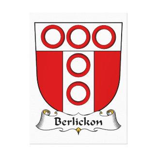 Berlickon Family Crest Canvas Print