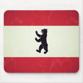 Berlim Grunged Flag Mousepad