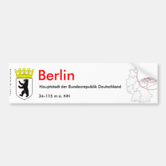 Berlin 1 bumper stickers