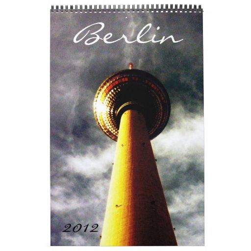 Berlín 2012 calendarios de pared