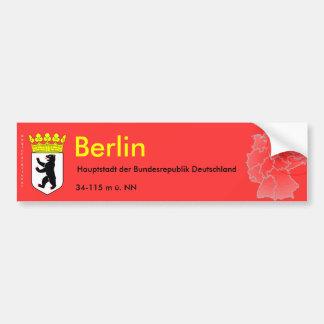 Berlin 3 bumper sticker