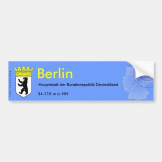 Berlín 3 pegatina para auto