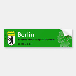 Berlín 4 pegatina para auto