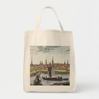 Berlín, Alemania, 1737 Bolsa Tela Para La Compra