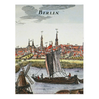 Berlín, Alemania, 1737 Postal