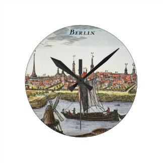 Berlín, Alemania, 1737 Reloj Redondo Mediano