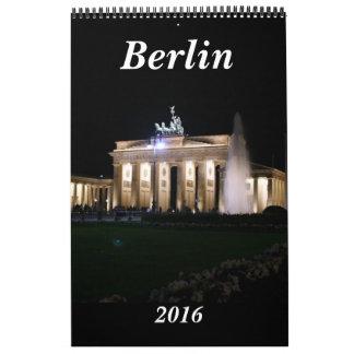 Berlín Alemania 2016 Calendarios