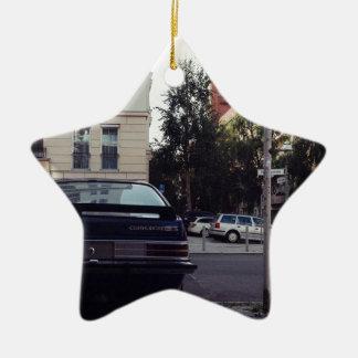 Berlín, Alemania - Dahlmann Strasse Adorno De Cerámica En Forma De Estrella
