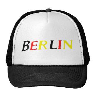 Berlín, Alemania en colores de la bandera Gorras