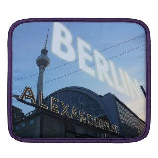 Berlin Alexanderplatz station with TV Tower iPad Sleeve