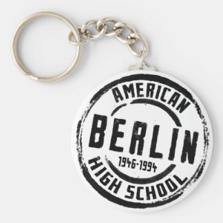 Berlin American High School Stamp A004 Keychain