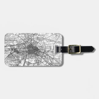 Berlin and Surrounding Areas Map(1911) Bag Tag