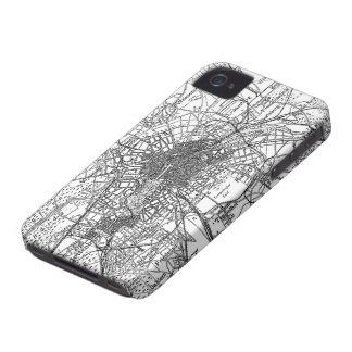 Berlin and Surrounding Areas Map(1911) iPhone 4 Covers