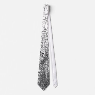 Berlin and Surrounding Areas Map(1911) Tie
