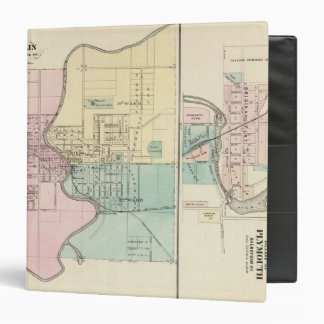 Berlin and Village of Plymouth Vinyl Binder