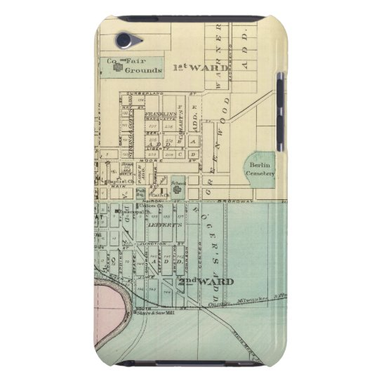 Berlin and Village of Plymouth Case-Mate iPod Touch Case