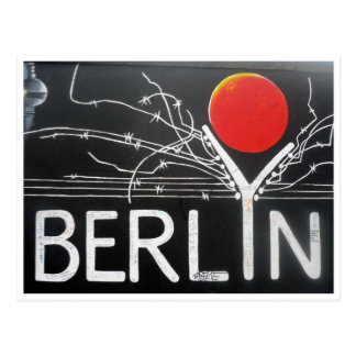 berlin art postcard