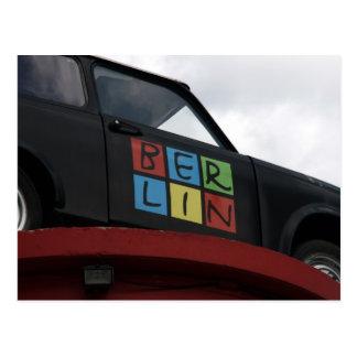 berlin automobile postcard