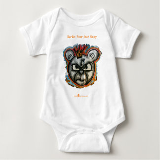Berlin Bear Baby Bodysuit