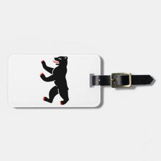 Berlin Bear Bag Tag